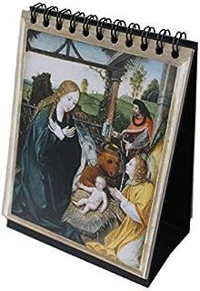 "Sacred Art Series Large Rosary Flip Book (7"" x 8.75"") with Desktop Easel"