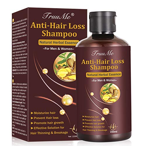 Hair Growth Shampoo,Hair Loss shampoo, Anti-Hair Loss Shampoo, Helps Stop Hair Loss, Grow Hair Fast, Hair Loss Treatment for Men & Women(220mL)