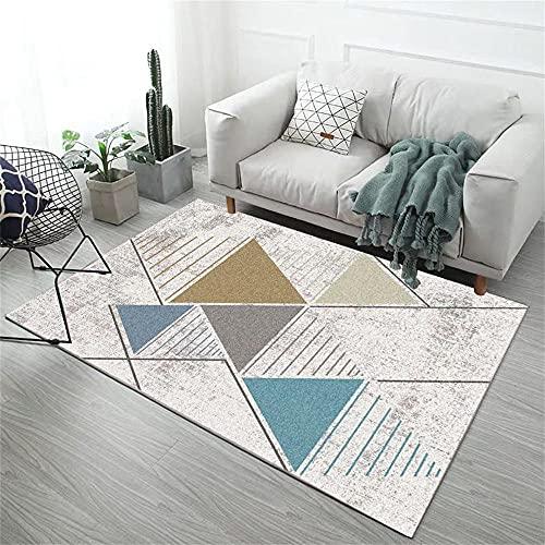 Tappeto Economico Tappeti Per Salotto Green Grey Grigio Triangolo Modello Moderno Minimalista Geometric Graphic Design Tappeti Da Salotti 200X280cm