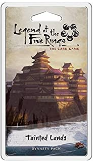 University Games Current Edition Legend of The Five Rings Lcg Tainted Lands Board Game