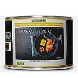 Naturseed - Pato Confitado - Criados en libertad, comiendo hierba y maiz no GMO - El pato mas rico y sabroso en solo 10 min de horno o microondas - Conservados en su propia Grasa (4-5 muslos)