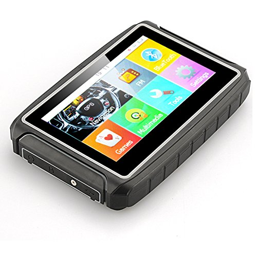 Best waterproof gps 4.3 inch Portable gps navigator mototorcycle navigation with Bluetooth / FM transmitter