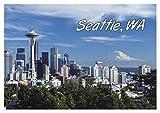 Space Needle, Seattle, WA, Washington City...