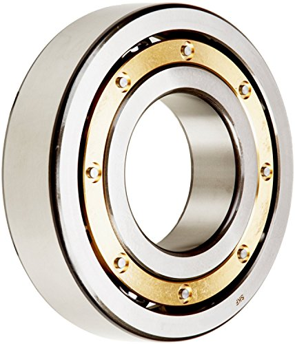SKF 6044 M Deep Groove Ball Bearing, Open, Brass Cage, Normal Clearance, 220mm Bore, 340mm OD, 56mm Width