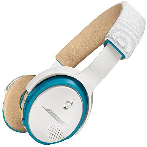 Bose SoundLink Binaurales Kopfband, kabelgebunden, Beige, Blau, Weiß, Kopfhörer und Mikrofon – Kopfhörer und Mikrofone (kabelgebunden, Kopfband, binaural, ohrumschließend, 152,6 g, Beige, Blau, Weiß)