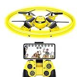 FPV Drone per bambini con trasmissione Live e luce notturna, quadricottero RC con altezza e sensore...