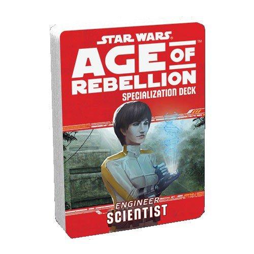 Star Wars Age of Rebellion Spec Scientist Board Game