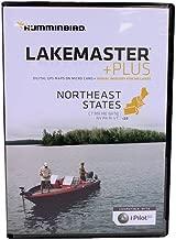 Humminbird LakeMaster Plus Northeast Edition Digital GPS Lake and Aerial Maps, Micro SD Card, Version 2