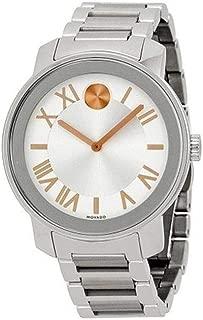 Women's Swiss Quartz Stainless Steel Watch, Color: Silver-Toned (Model: 3600196)