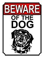 犬の壁の金属のポスターに注意してくださいレトロなプラークの警告ブリキのサインヴィンテージ鉄の絵画の装飾オフィスの寝室のリビングルームクラブのための面白い吊り工芸品