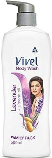 Vivel Body Wash, Lavender & Almond Oil Shower Crème , 500 ml Pump