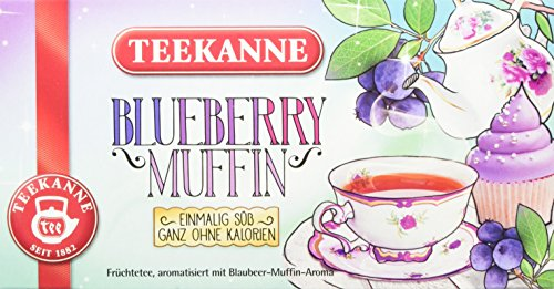 Teekanne Blueberry Muffin, 12er Pack (12 x 41 g)