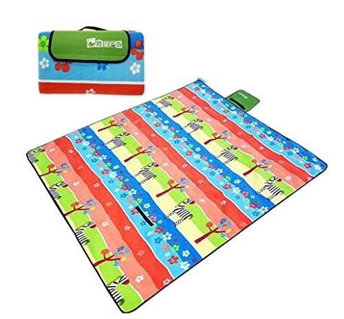 Outdoor Beach Blanket/Poche Compact étanche et Preuve Sable Mat pour Le Camping, randonnée, Pique-Nique #1