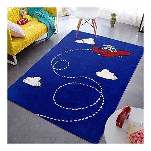 Bahía ventana de dibujos animados de alfombras cojines rectangulares de los niños alfombra de la...