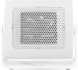 ZRSA Calefactor Cerámico Mini Calefactor Cerámico Calentador de Espacio Eléctrico Portátil Personal para Cuarto Baño Oficina-Blanco
