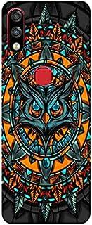 لهاتف انفنكس هوت 7 برو اكس 625 ملصق ظهر كامل طباعة وملمس البومة الملونة