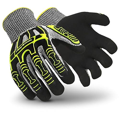 NEW Size 10//XL 1 Pair ANSI//ISEA Cut A3 HexArmor Rig Lizard 2021 Safety Glove