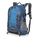 SKYSPER Mochila de senderismo 35 litros Impermeable para Montaña Macuto de Trekking hombre mujer Morral Escalada de Camping Acampada Excursiones