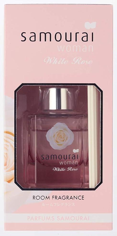 エチケット時間とともにインセンティブSamourai woman(サムライウーマン) サムライウーマン ホワイトローズ ルームフレグランス ホワイトローズの香り 60ml