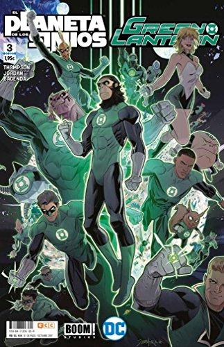 Green Lantern/El Planeta de los Simios núm. 03 (de 6): Planeta de los Simios/Green Lantern 3