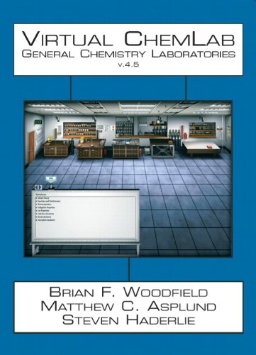 Virtual ChemLab: General Chemistry Student Workbook + CD v. 4.5 (4th Edition)