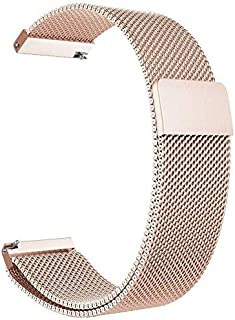Gear S3 Frontier/Classic Watch Band, 22mm Milanese Loop Adjustable Stainless Steel Replacement Strap Bands for Samsung Gea...