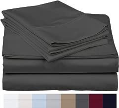 600 Thread Count 100% Long Staple Soft Egyptian Cotton SheetSet, 4 Piece Set, TWIN SHEETS,upto 17