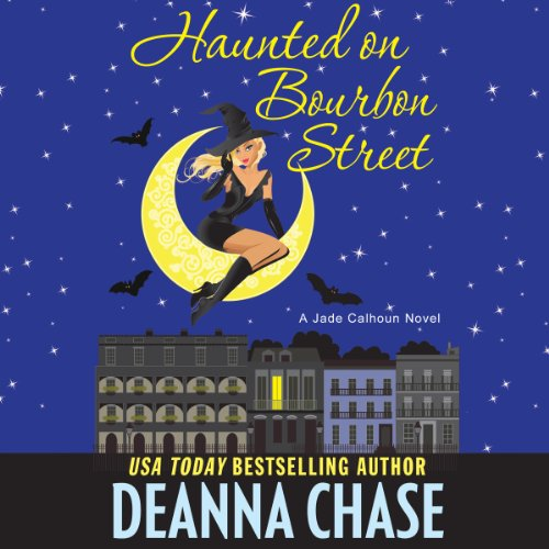 Haunted on Bourbon Street audiobook cover art