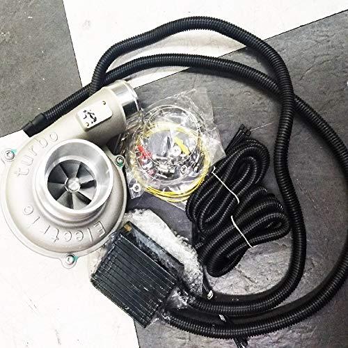 LnNcWcD Regolamento Elettrico di velocità Turbo Supercharger Kit Automatico ad Alta efficienza e Risparmio energetico Filtro Aria di aspirazione Migliorare la velocità dell'automobile