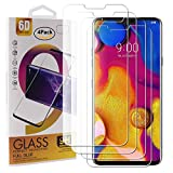 Guran 4 Pezzi Pellicola Protettiva in Vetro Temperato per LG V40 ThinQ Smartphone 9H Durezza Anti-Impronte HD Alta Trasparenza Pellicola
