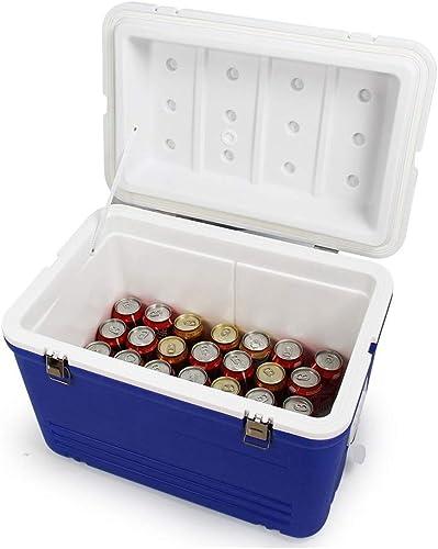 Gquan Boîte Isotherme, 62L Réfrigérateur Boîte d'échantillonnage pour Barbecue en Plein air