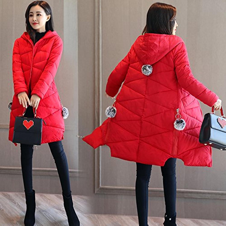 Xuanku Winter's Dicker Mantel Baumwolle Mantel Frauen Lange, Weiche Baumwolle Bekleidung Und Baumwolle.