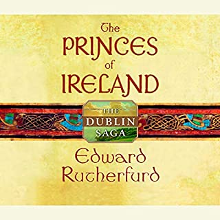 Princes of Ireland audiobook cover art