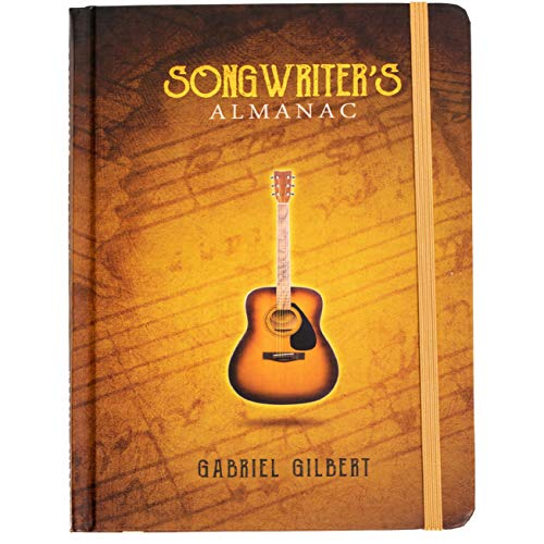 Product Image of the Songwriter's Almanac • Guided Songwriting & Lyrics Journal • 160 Pages of...