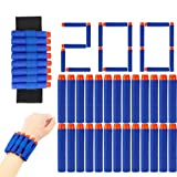 monochef 200PCS Darts Refill Pack with Wrist Band for Nerf N-Strike Elite Series (200PCS)