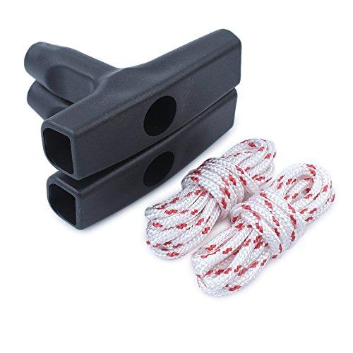 Haishine Zwei Sets Recoil Starter Griff Grip Seil Reparatur-Set für Stihl MS170 MS180 MS181 MS210 MS230 MS250 017 018 021 023 025 Chainsaw Teile …