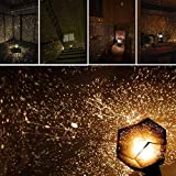ZWIFEJIANQ Constellation Lamp,LED Star Master Night Light Constellation Lamp,Fantasy Sky Map Projector, LED Star Sky Projection for Birthday, Party, Children's Day, Christmas, Anniversary