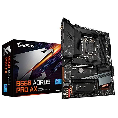 Gigabyte B560 AORUS PRO AX ATX Motherboard für Intel LGA 1200 CPUs