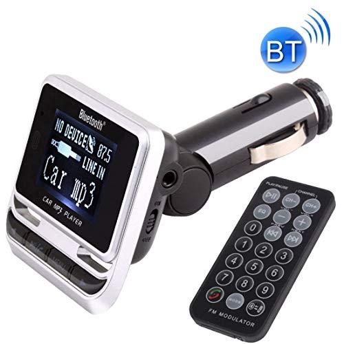 LXZDP Transmisor de FM del coche de Bluetooth FM12B con control remoto, ayuda USB/TF tarjeta / MP3 de reproducción de música