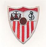 Marel - Parche bordado termoadhesivo Sevilla de 7 x 8,3 cm, réplica