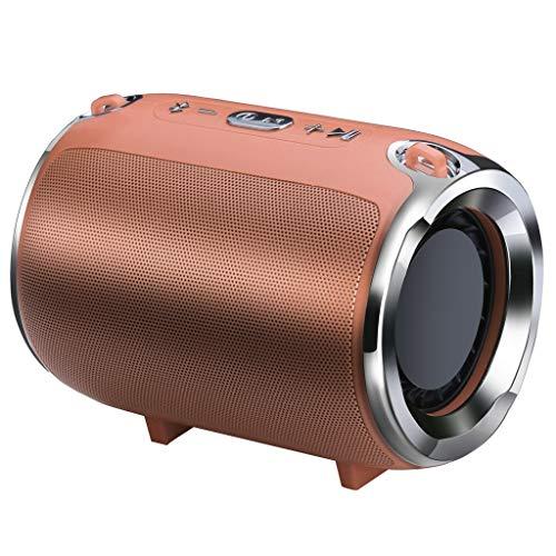 LRWEY Bluetooth Lautsprecher Tragbarer Mini Wireless Heavy Subwoofer Player Musik Sound für iPhone, Samsung usw.