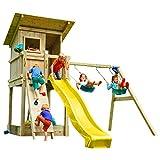 Blue Rabbit 2.0 Spielturm BEACH HUT mit Rutsche 2,30 m oder 2,90 m inkl. Wasseranschluss,...