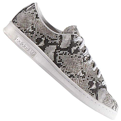 adidas Originals X Hyke Stan Smith Herren Sneaker AOH001 Schlange LTokio B26098, Schuhgröße:EUR 46, Farbe:Weiß/Schwarz