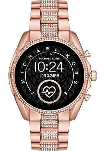 Michael Kors - Smartwatch Bradshaw 2 Tono Oro Rosa con Sistema operativo Wear OS de Google - MKT5089