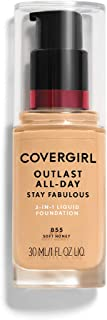 COVERGIRL Outlast All-Day Stay Fabulous 3-in-1 Foundation Soft Honey, 1 oz (packaging may vary)