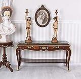 Konsolentisch Barock Konsole Intarsien Wandtisch Sideboard Tischkonsole cat154f99 Palazzo Exklusiv