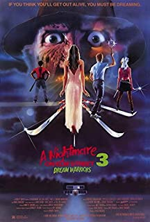A Nightmare on Elm Street 3: Dream Warriors Movie POSTER 27 x 40, Patricia Arquette, Robert Englund, A, MADE IN THE U.S.A.