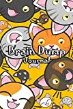 Brain Dump Journal: Template Worksheet Notebook With Prompts To Stop Stressing To Help You Clear Your Mind & Head Of Thoughts By Make Notes in Book | Smile Cat Face Cover