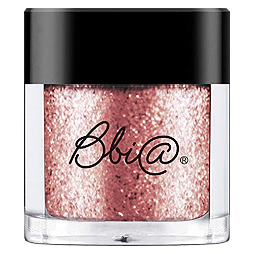 BBIA Pigments Glitter Eyeshadow, 5Light Series (09 Rose Diamond) 0.06oz