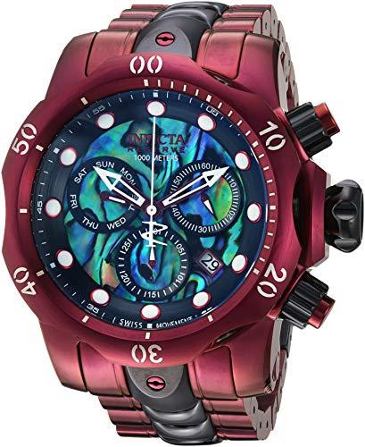 Invicta Reserve Reloj de hombre cuarzo suizo correa y caja de acero 25917
